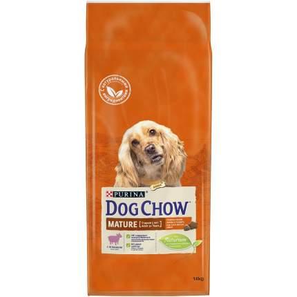 Сухой корм для собак Dog Chow Mature Adult, старше 5 лет, ягненок, 14кг