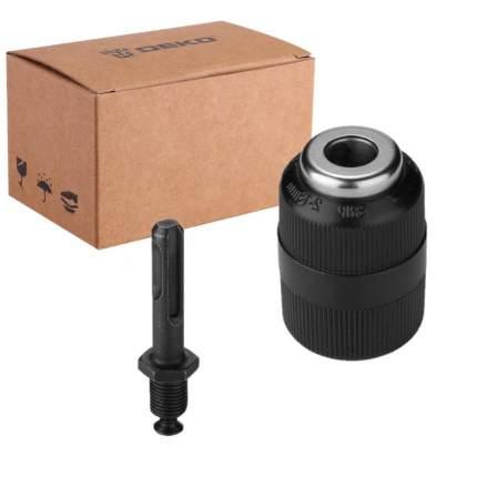 Патрон усиленный для дрели и перфоратора DEKO CH03 с адаптером SDS+, 1/2-20 мм, 1,5-13 мм