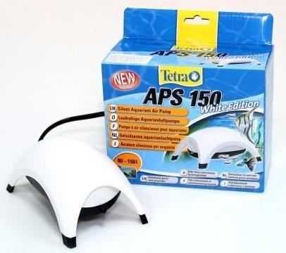 Компрессор для аквариума Tetra АРS 150 одноканальный, белый, 150 л/час