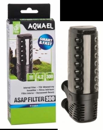 Фильтр для аквариума внутренний Aquael Asap 300, 300 л/ч, 4,2 Вт