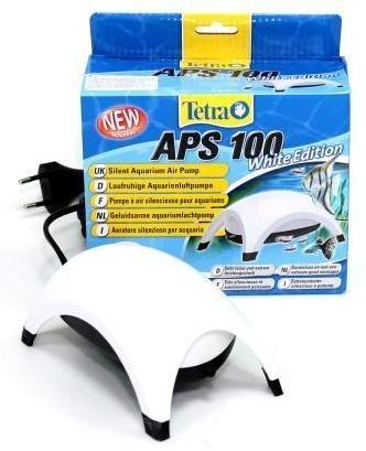 Компрессор для аквариума Tetra АРS 100 одноканальный, белый, 100 л/час