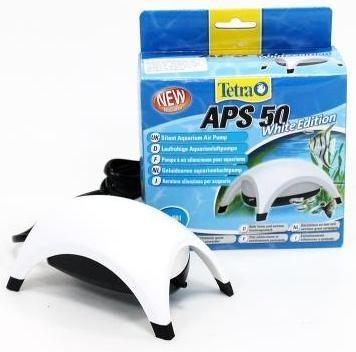 Компрессор для аквариума Tetra АРS 50 одноканальный, белый, 50 л/час