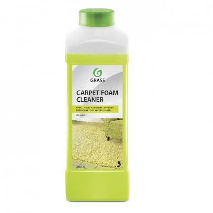 Очиститель ковровых покрытий Grass carpet foam cleaner концентрат канистра 1 л