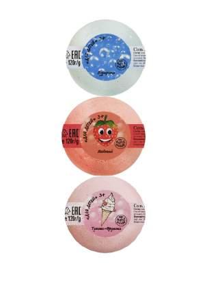 Ресурс Здоровья, Бурлящие шары для ванны «Детские», 3 шт.