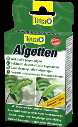 Средство для борьбы с водорослями в аквариуме Tetra АЛГЕТТЕН 12 таб