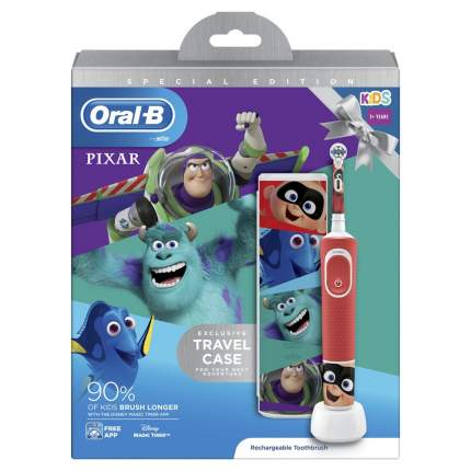 Зубная щетка электрическая Braun Oral-B Kids Vitality Kids Pixar D100.413.2KX