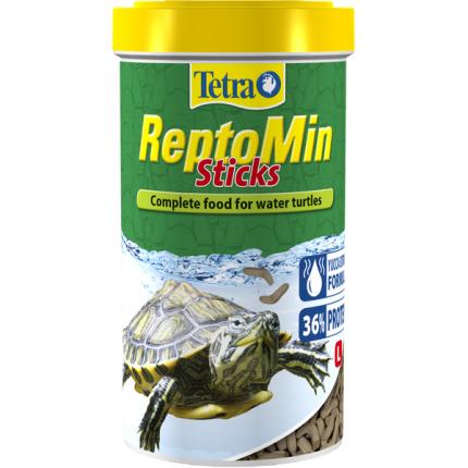 Корм для рептилий ReptoMin в палочках для водных черепах 500мл