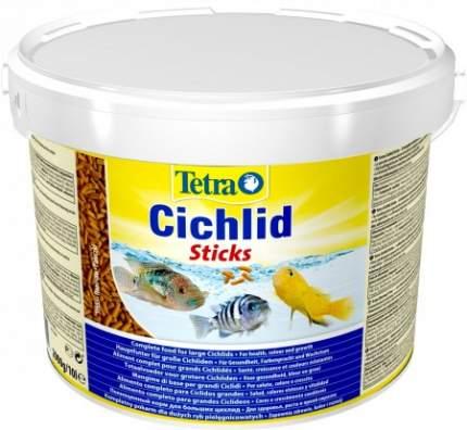 Корм для всех видов цихлид Tetra Cichlid Sticks, палочки, 10 л