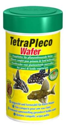 Корм для для сомиков-присосок Tetra Pleco Wafer, таблетки, 100 мл
