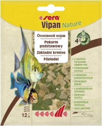 Корм для рыб Sera Vipan, хлопья, 12 г
