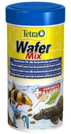Корм для рыб TetraWafer Mix для всех донных рыб и ракообразных, пластинки, 250 мл