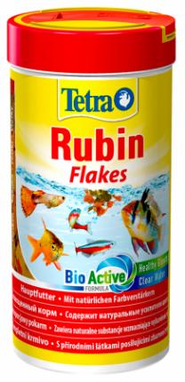 Корм для рыб Tetra Rubin, для улучшения окраска, хлопья, 250 мл