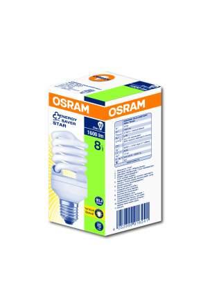 Набор компактных люминисцентных ламп OSRAM DST MTW 23W/827 220-240VE27 54х119мм, 10 штук