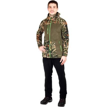 Куртка для рыбалки Росомаха Арей, 48 RU/170, камуфляж/хаки