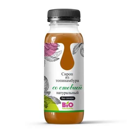 Сироп Топинамбура  натуральный (стевия)  без сахара 250мл
