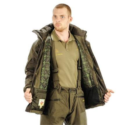 Куртка для рыбалки Aquatic КК-02, M INT/176, зеленый