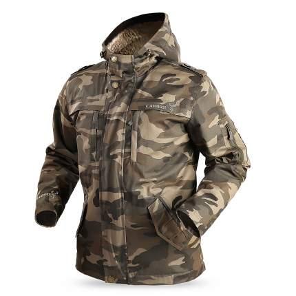 Куртка для рыбалки Тайга Caribou, 44 RU, 46 RU/170-176, camo