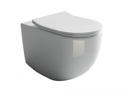 Приставной унитаз Ceramica Nova Metropol Rimless безободковый CN4004