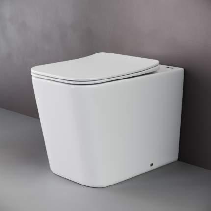 Приставной унитаз Ceramica Nova Cubic Rimless безободковый CN1809