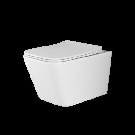 Подвесной унитаз Ceramica Nova Metric Rimless безободковый CN3007