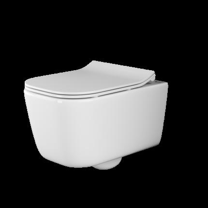 Подвесной унитаз Ceramica Nova New Day Rimless безободковый CN3005