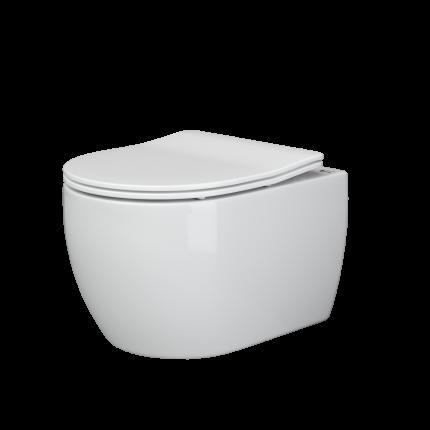 Подвесной унитаз Ceramica Nova Play Rimless безободковый CN3001