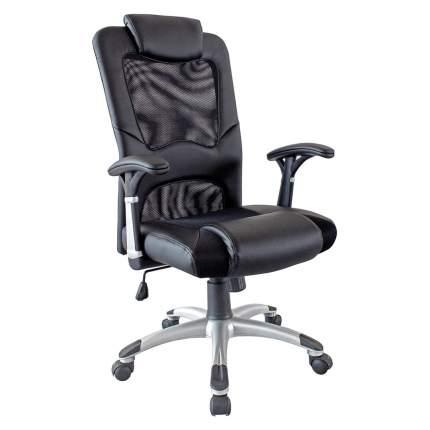 Кресло руководителя Хорошие кресла Vincent, Экокожа, черный