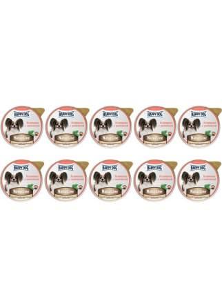 Влажный корм для собак Happy Dog Natur Line, Ягненок, печень, сердце и рис, 10шт, 125г
