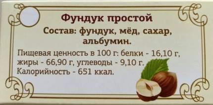 Туррон Фундук простой 100 г