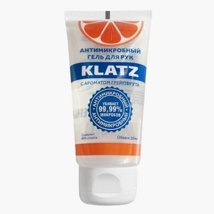 Антимикробный гель для рук KLATZ с ароматом грейпфрута 50 мл