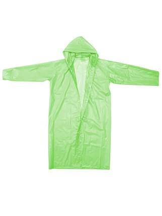Виниловый плащ-дождевик для взрослых (Цвет: Зеленый  )
