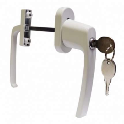 Балконный гарнитур ANTEY асимметричный с ключом белый