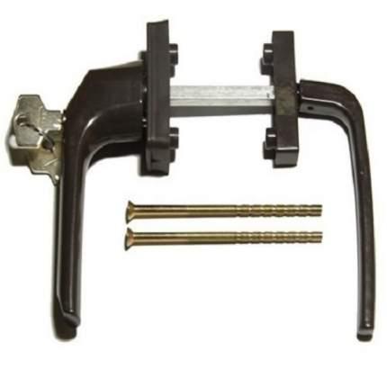 Балконный гарнитур ANTEY асимметричный с ключом коричневый
