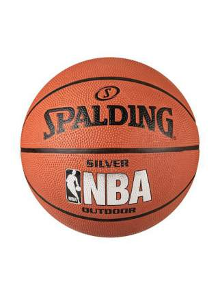 Баскетбольный мяч Spalding NBA Silver Outdoor (65-821Z)