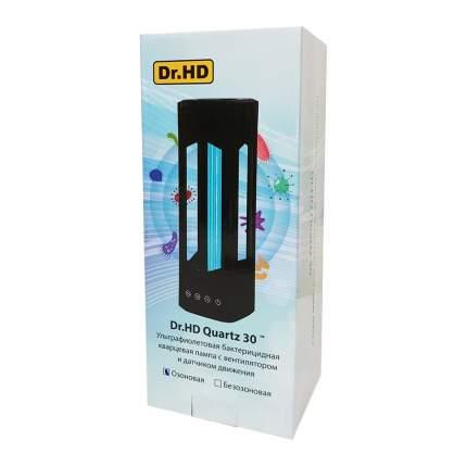 Ультрафиолетовая бактерицидная лампа с вентилятором и дат. движения Dr.HD Quartz 30 Озон