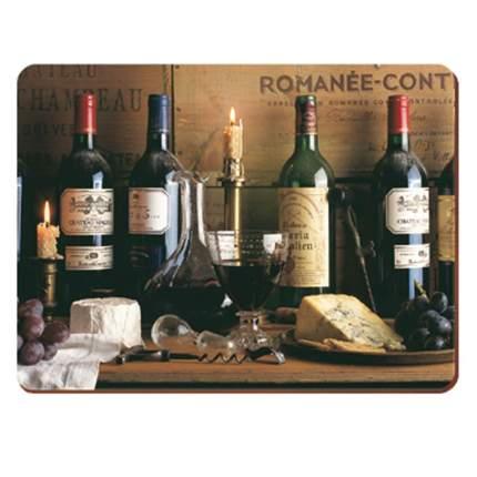 Подставки на пробке средние Виноделие 30х23 см (6шт)