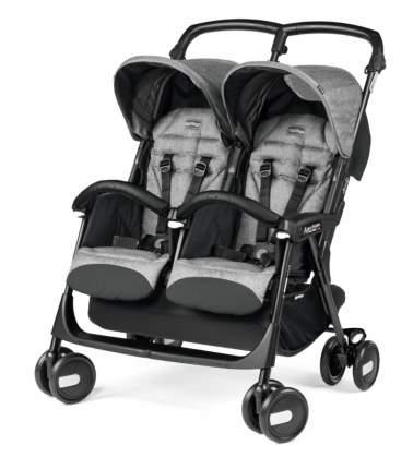 Коляска прогулка для двойни Peg-Perego Aria Shopper Twin Cinder