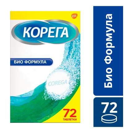 Биоформула для обработки зубных протезов Corega таблетки N72