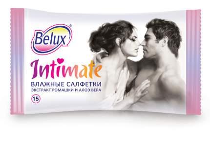 Влажные салфетки Belux для интимного ухода 15 шт