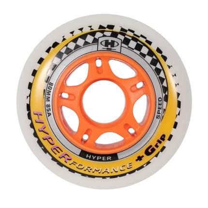 Колеса HYPER HYPERFORMANCE +G 80мм/85A white/orange (1 шт)