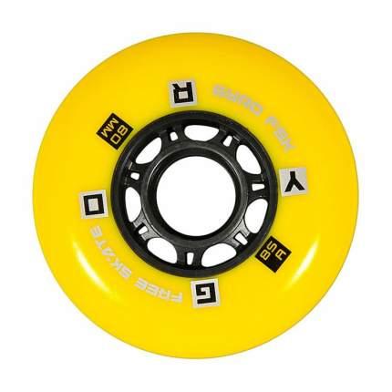 Колеса GYRO GFR F2R yellow 80mm/85A (1 шт)