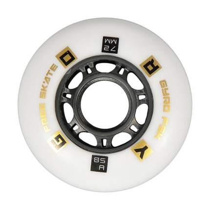 Колеса GYRO GFR F2R white 72mm/85A (1 шт)