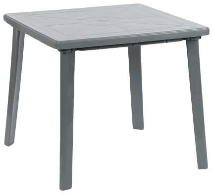 Стол для дачи Hoff квадратный 80383111 gray 80x80x71 см