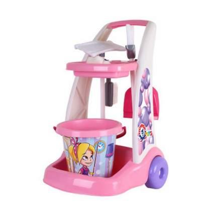 Набор Mega toys Маленькая хозяйка с тележкой T6429