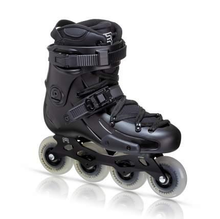 Роликовые коньки FR SKATES FR2 80 (black) 2021 г. (43)