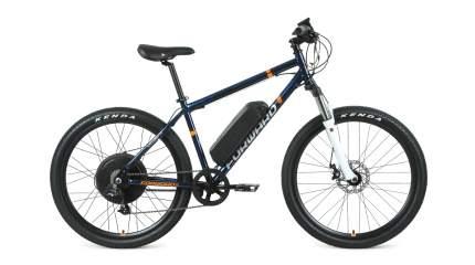 Forward Электровелосипед Cyclone Plus 26 2.0 Disc 500W, 2021, ростовка 17, Синий