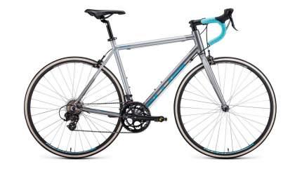Forward Велосипед Шоссейные Impulse, год 2021  , ростовка 19, цвет Серебристый, Зеленый
