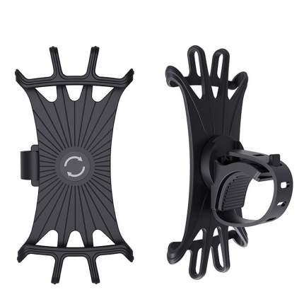 Держатель смартфона на руль велосипеда, электросамоката Star accessories черный