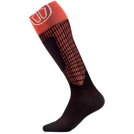Гольфы Sidas Ski Comfort Mv Socks, black/red, 44-46 EU