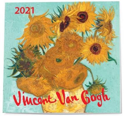 Ван Гог. Календарь настенный на 2021 год (170х170 мм)